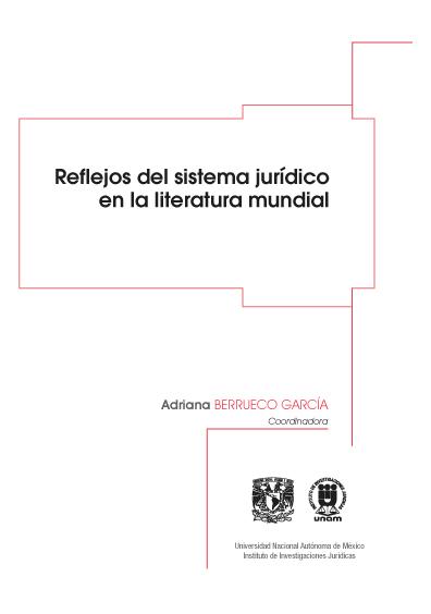 Reflejos del sistema jurídico en la literatura mundial