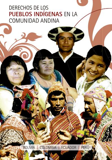 Derechos de los pueblos indígenas en la comunidad andina. Colección Comunidad Andina