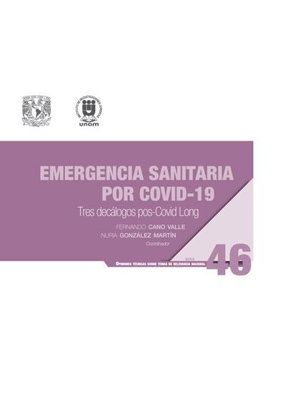 Emergencia sanitaria por Covid-19: tres decálogos pos-Covid Long. Serie Opiniones Técnicas sobre Temas de Relevancia Nacional, núm. 46