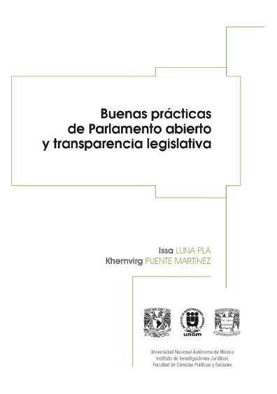 Buenas prácticas de Parlamento abierto y transparencia legislativa