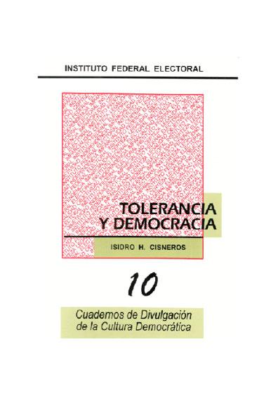 Tolerancia y democracia