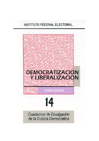 Democratización y liberalización