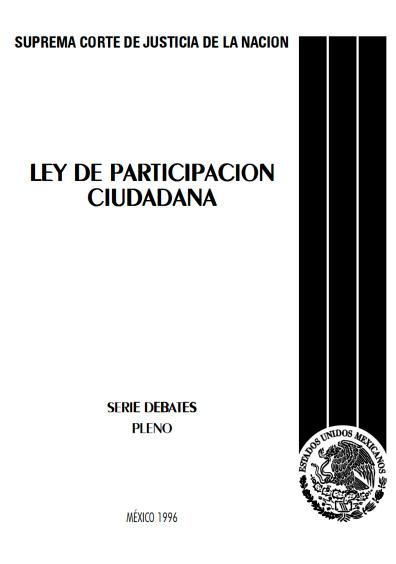 Ley de Participación Ciudadana