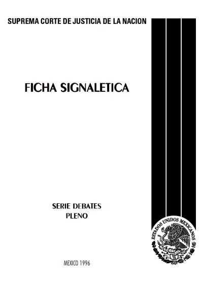 Ficha signalética