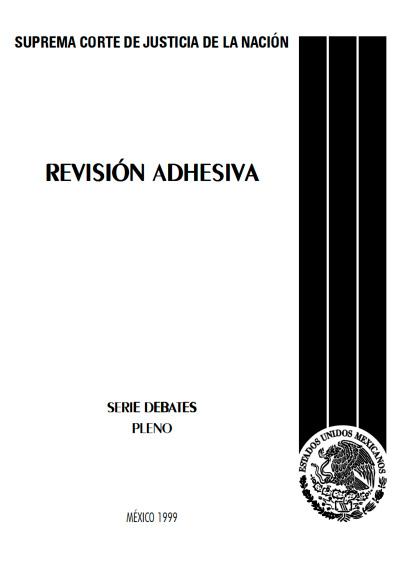 Revisión adhesiva