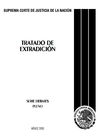 Tratado de extradición