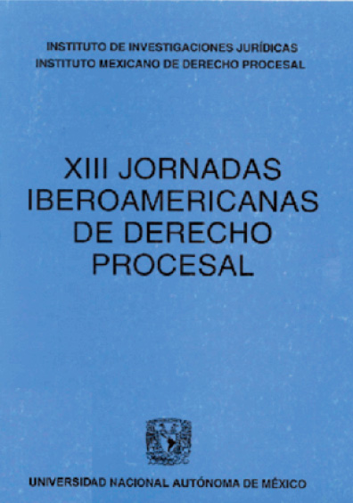 XIII Jornadas Iberoamericanas de Derecho Procesal