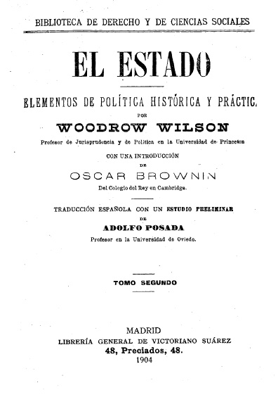 El Estado, t. II