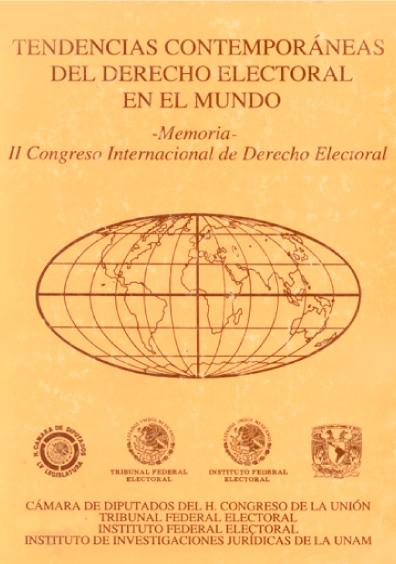 Tendencias contemporáneas del derecho electoral en el mundo