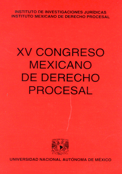 XV Congreso Mexicano de Derecho Procesal