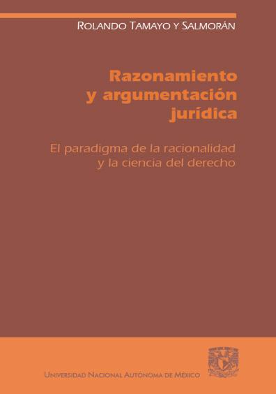 Razonamiento y argumentación jurídica