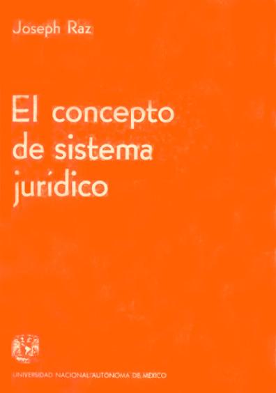 El concepto de sistema jurídico