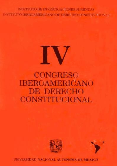 IV Congreso Iberoamericano de Derecho Constitucional