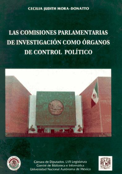 Las comisiones parlamentarias de investigación como órganos de control político