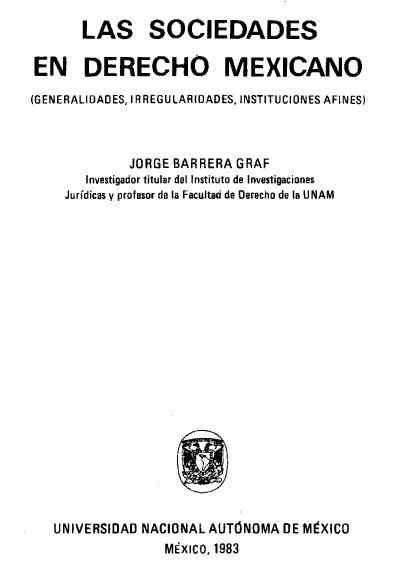 Derecho agrario revolucionario. Bases para su estudio