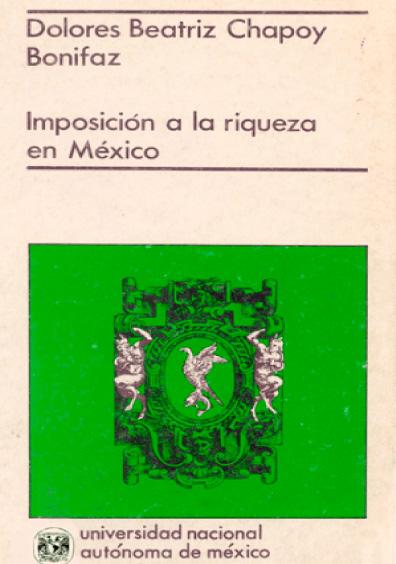 Imposición a la riqueza en México