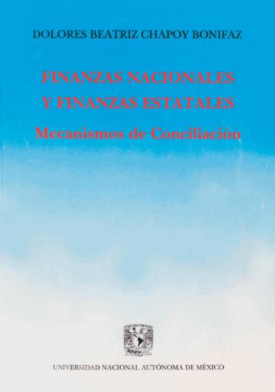 Finanzas nacionales y finanzas estatales. Mecanismos de conciliación