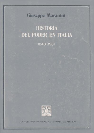Historia del poder en Italia, 1848-1967