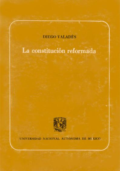 La Constitución reformada