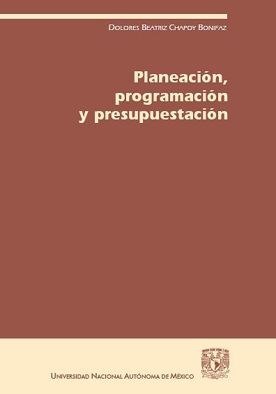 Planeación, programación y presupuestación