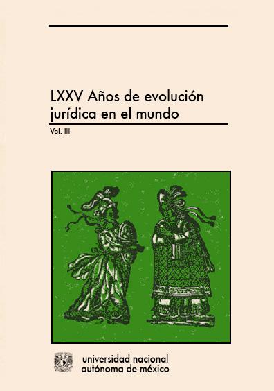 LXXV años de evolución jurídica en el mundo, vol. III