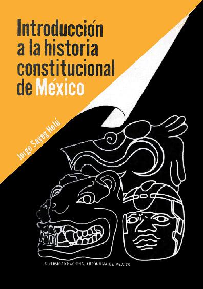 Introducción a la historia constitucional de México