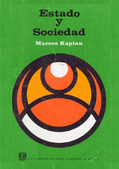 Estado y sociedad, 3a. ed.