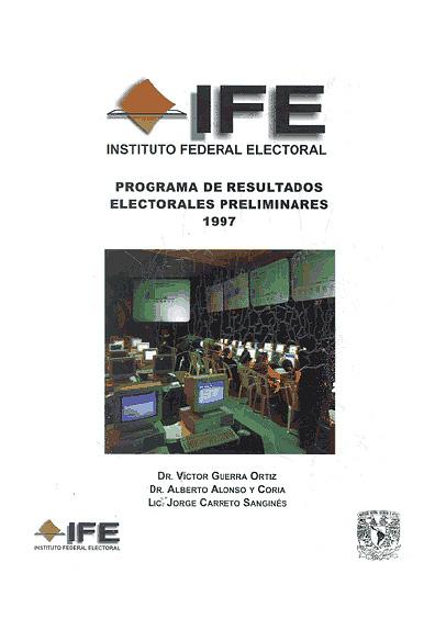 Programa de resultados electorales preliminares, 1997