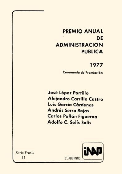 Praxis 001. Álvaro Obregón: ideas, programas e instituciones