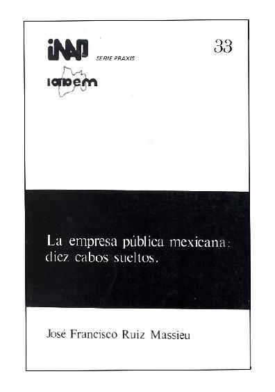 Praxis 033. La empresa pública mexicana: diez cabos sueltos
