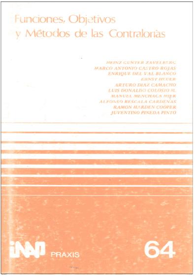 Praxis 064. Fusiones, objetivos y métodos de contraloría