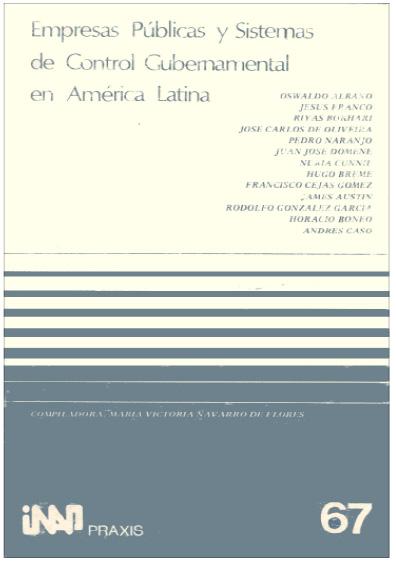 Praxis 067. Empresas públicas y sistemas de control gubernamental en América Latina