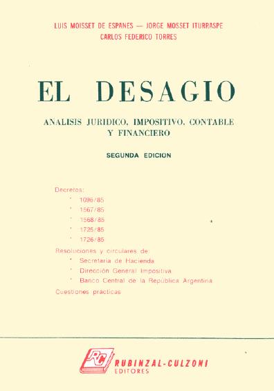 El desagio, 2a. ed.