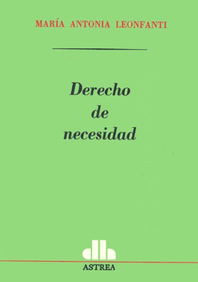 Derecho de necesidad