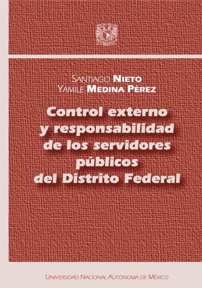 Control externo y responsabilidad de los servidores públicos del Distrito Federal