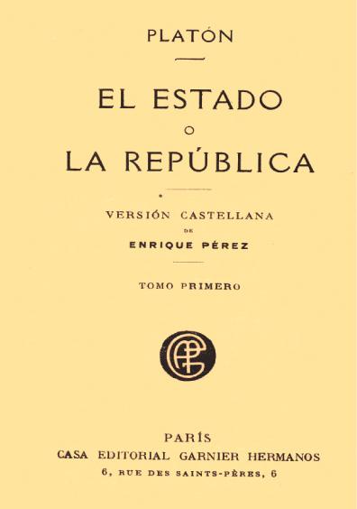 El Estado o la República, t. I
