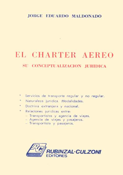 El charter aéreo