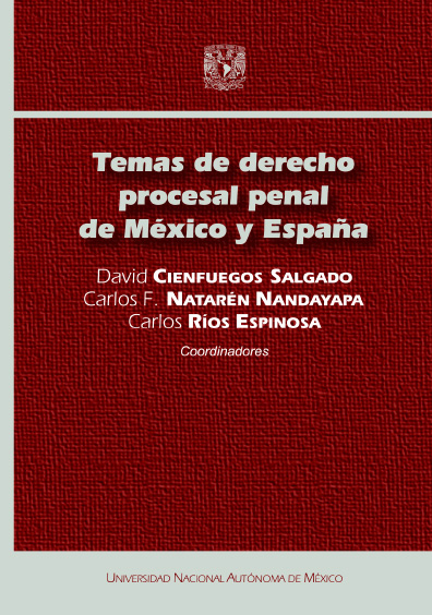 Temas de derecho procesal penal de México y España
