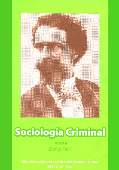 Sociología criminal, t. II