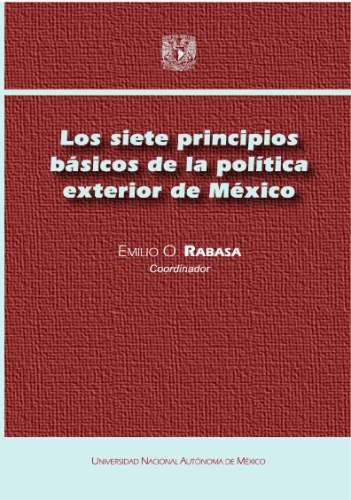 Los siete principios básicos de la política exterior de México