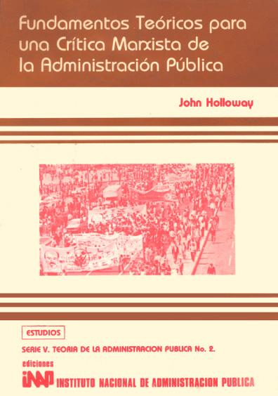 Fundamentos teóricos para una crítica marxista de la administración pública