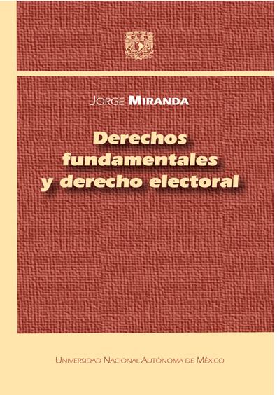 Derechos fundamentales y derecho electoral