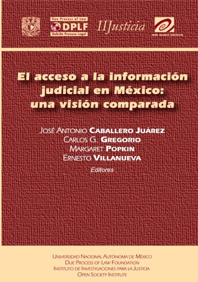 El acceso a la información judicial en México: una visión comparada