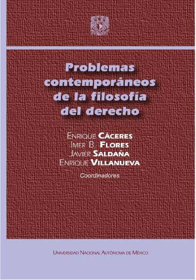 Problemas contemporáneos de la filosofía del derecho