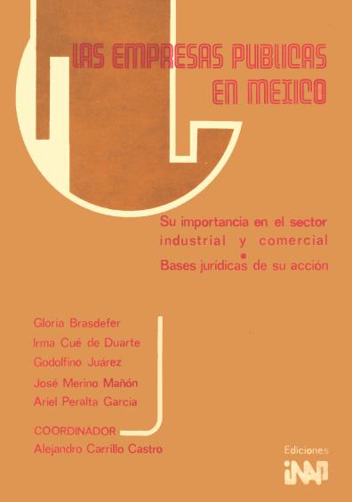 Las empresas públicas en México