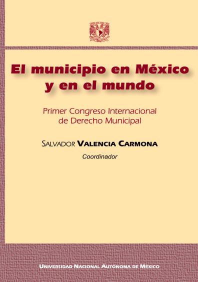 El municipio en México y en el mundo