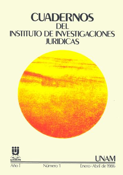 Cuadernos del Instituto de Investigaciones Jurídicas. La protección internacional de los derechos humanos. Normas y procedimientos