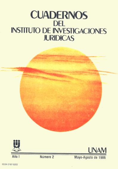 Cuadernos del Instituto de Investigaciones Jurídicas. La reforma municipal mexicana