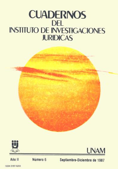 Cuadernos del Instituto de Investigaciones Jurídicas. La concertación social