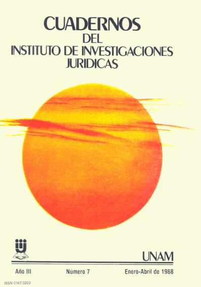 Cuadernos del Instituto de Investigaciones Jurídicas. Introducción al derecho de las comunidades indígenas